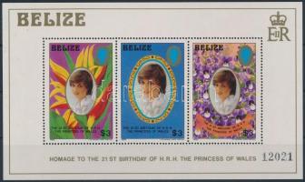Princess Diana's Birthday block, Diana hercegnő születésnapja blokk