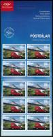 2013 Europa CEPT Postai járművek öntatadós bélyegfüzet pár Mi 1394-1395D