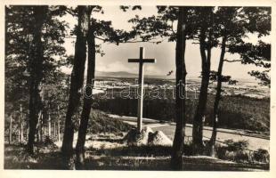 Trianoni kereszt Kőszegen / Trianon Cross in Kőszeg, Hungary. irredenta