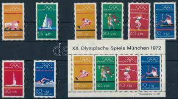 Olympic games 2 sets + block, Olimpia 2klf sor + blokk