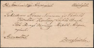 1823 Ex offo NKároly - Beregszász