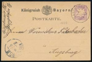 Német államok - Bajorország 1879