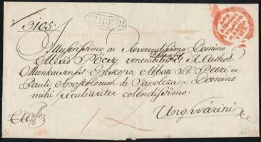 1825 Ex offo SZIGETH - Unghvár