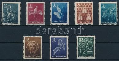 Definitive stamp set, Forgalmi bélyeg sor