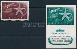 Stamp exhibition + block, Bélyegkiállítás + blokk