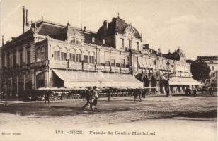 Nice, Facade du Casino Municipal