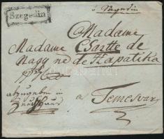 ~1820 Franco Szegedin - Temesvár