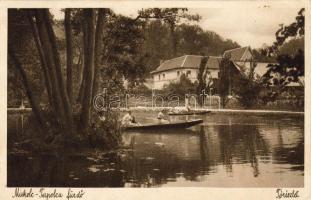 Miskolc-Tapolca fürdő, tó