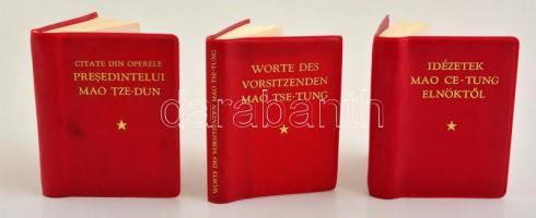 német nyelvű idézetek Mao Ce Tung idézetek magyar, német és román nyelvű   Darabanth