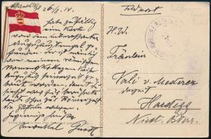 """Postcard """"SMS ERZHERZOG FRIEDRICH"""", Képeslap """"SMS ERZHERZOG FRIEDRICH"""""""