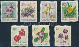 1967 Virág sor Mi 1724-1730
