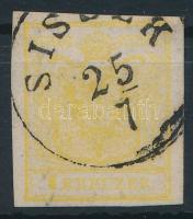 1850 1kr MP III citromsárga ,,SIS(SE)K