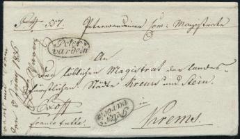 1836 Ex offo Peter=/vardein - Krems
