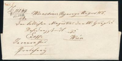 1832 Ex offo BELLOWAR - piros/red WIEN