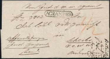 1836 Ex offo AGRAM - Scheibs