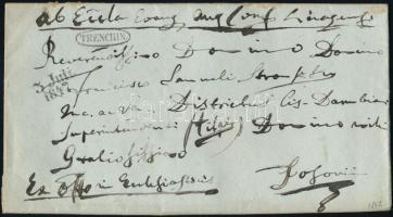 1847 Ex offo TRENCHIN - PRESSBURG