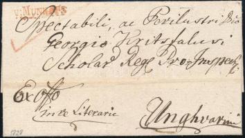 1828 Ex offo piros/red v:MUNKÁTS - Unghvar