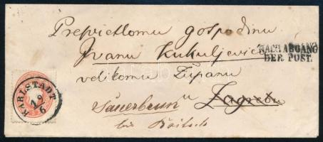 ~1861 5kr on cover