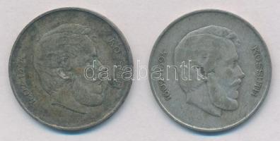 1947. 5Ft Ag Kossuth (2x) T:2-,3 patina