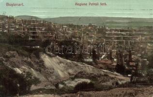 Bustenari, Regiune Petroli fera / petroleum factory, oil plant (Rb)