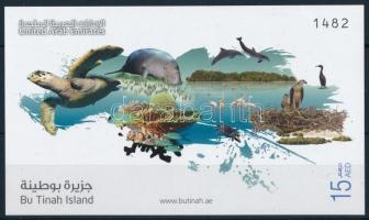 2011 Bu Tinah, az Unesco bioszféra rezervátuma blokk Mi 64