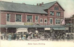Fordsburg (Johannesburg), Market Square, Zeffertts Auctionmart., E.K. Green & Morison Ltd., Marfell & Co., shops