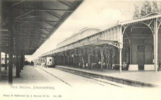 Johannesburg, Park Railway Station, train / Bahnhof