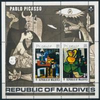 Picasso paintings block, Picasso festmények blokk