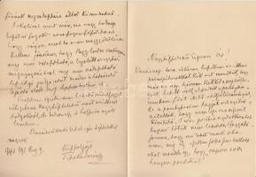 1893 VÉDETT! gróf Tisza Kálmán (1830-1902) saját kézzel írt levele Szél Kálmán református esperesnek (1838-1928) református egyház ügyeiben. Négy beírt oldal.