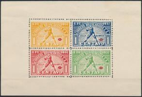 1937 Kényszerfelár - baseball blokk Mi Z 1