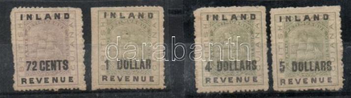 1888 Mi 74, 75, 78I, 79