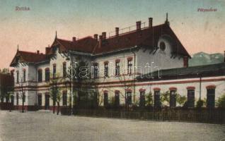 Ruttka, Vrutky; vasútállomás / Bahnhof / railway station (EK)