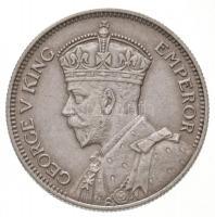 Új-Zéland 1934. 1Sh Ag V. György T:1- New Zealand 1934. 1 Shilling Ag George V C:AU Krause KM#3