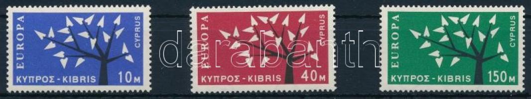 1963 Europa CEPT (1962) sor Mi 215-217