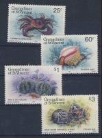 Sea animals set, Tengeri állatok sor, Meerestiere Satz