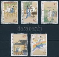 2003 Festmények sor Mi 3487-3491