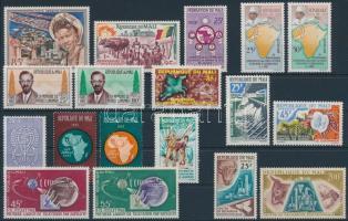1959-1962 6 sets + 6 diff. stamps, 1959-1962 6 db sor + 6 klf bélyeg