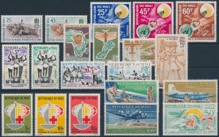 1963-1964 6 sets + 1 stamp, 1963-1964 6 db sor + 1 db bélyeg