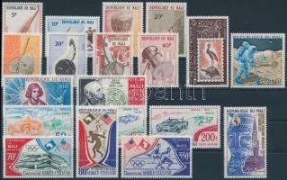 3 diff. sets + 5 stamps, 3 db sor + 5 db bélyeg
