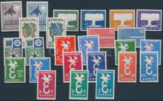1957-1958 Europa CEPT 11 klf sor
