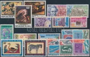 6 sets + 1 stamp, 6 sor + 1 bélyeg