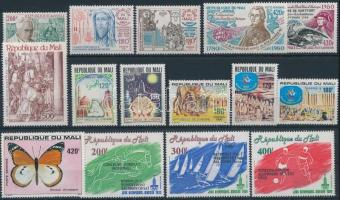 4 sets + 3 diff. stamps, 4 klf sor + 3 db bélyeg