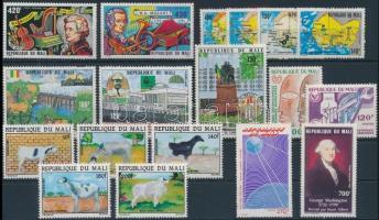 1980-1982 5 sets + 2 diff. stamps, 1980-1982 5 klf sor + 2 db bélyeg