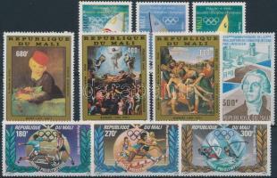 1982-1983 3 diff. sets + 2 stamps, 1982-1983 3 klf sor + 2 db bélyeg
