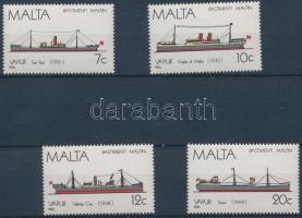 1985 Hajó sor Mi 643-646