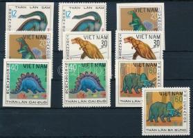 1979 Ősállatok sor 5 vágott és fogazott értéke Mi 1008-1011 + 1013