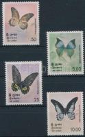 1978 Pillangó sor Mi 483-486