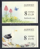 1994 Flóra és fauna bélyegfüzetek 2 db Mi 75+77 MH 0-1+0-2