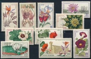 1965-1997 Flower 2 sets + 2 blocks, 1965-1997 Virág motívum 2 sor + 2 blokk