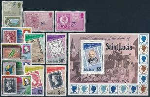 1979-1980 Stamp 5 sets + 2 blocks, 1979-1980 Bélyeg motívum 5 db klf sor + 2 blokk